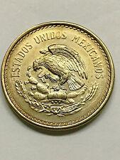 1940 Mexico 10 Centavos Aztec Calendar Unc+ #6145