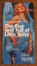THE RISE AND FALL OF LITTLE VOICE LONDON THEATRE PROGRAMME SIGNED CAST