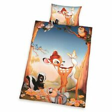 Bébé Linge de Lit Disney Bambi Et Marteau 100 X 135 CM 100% Coton