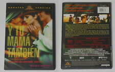 Y Tu Mama Tambien movie Alfonso Cuaron - U.S. dvd
