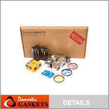 Fits 01-02 Kia Rio 1.5L DOHC Full Gasket Pistons Bearings Rings Set A5D
