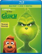 Dr Seuss' The Grinch (Blu-ray Disc, 2019)