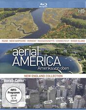 2 Blu-rays * AERIAL AMERICA - AMERIKA VON OBEN : NEW ENGLAND # NEU OVP ^