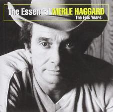 MERLE HAGGARD ~ ESSENTIAL NEW CD COUNTRY MUSIC WITH WILLIE NELSON,GEORGE JONES+