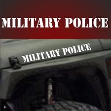 1x MILITARY POLICE 58cm US Army Sterne Auto Aufkleber Türen Hauben USA Jeep 4x4