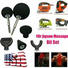 6X Percussion Massage Tip Bit kit For Jigsaw Massager Adapter Attachment Worx US