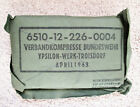 1963 Bundeswehr Compression Bandage Verbandkompresse West German Army Medic