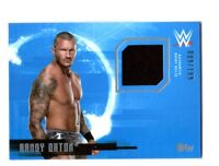 WWE Randy Orton 2017 Topps Undisputed Event Worn Shirt Relic Card SN 9 of 199