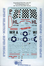 SuperScale Decals 1:48 P-51 D Mustangs 8th AF 83rd FS/78th FG 355th FG #48-1137