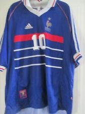 Francia 1998 Zidane 10 Home Football Shirt Talla Xl / 37870
