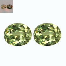 1.10 Ct IF (2Pc) Pair Oval Cut 5 x 4 mm AAA Genuine Turkish Color Change