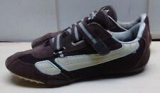 LA Gear Women Brown Leather Mesh Athletic Hook Loop Sneaker Running Shoe 9.5M 42