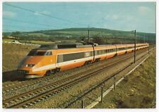 French TGV Loco PPC, Posted Switzerland, Approx 1981, By Lynacolor