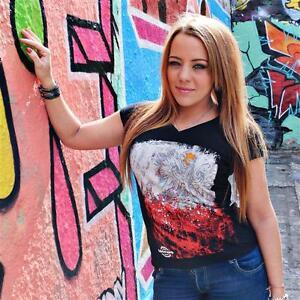 AUSVERKAUF Zoonamo POLEN Damen Classic Shirt   Polska Girls Länder T-Shirt