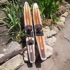 New listing Water Skis Wall Art Man Cave Dick Poe Jr 57 Busch Gardens