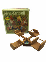 Calico Critters Sylvanian Families Simba Barenwald Carousel WOODEN Forest Family