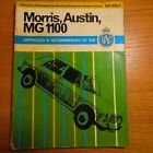 MORRIS AUSTIN MG 1100 Pearson's RAC Service Maintenance Workshop Manual M Palmer