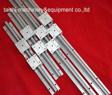 TOP linear rail SBR16-1200mm(4 supporter rails+ 8 SBR16UU blocks) for CNC