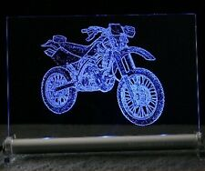ENDURO   CROSS LED Acrylschild CROSSER  kawa suzi ktm