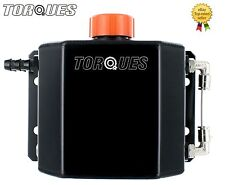 Torques 1 Litre Capacity 12mm Barbed Oil Breather Catch Tank Can Anodized Black