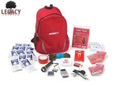 ESSENTIAL 2 PERSON SURVIVAL GEAR KIT-EMERGENCY GRAB AND GO SURVIVALIST BACKPACK