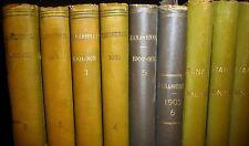 Panathenaia: 1900-1910 Greece Illustrated Arts Journal 19 Bound Volumes in Greek