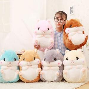 EU Fahsion Hamster Throw Pillow Plush Blanket Bolster Cute Mice Cushion Kids Toy