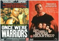 ONCE WERE WARRIORS + WHAT BECOMES OF THE BROKEN HEARTED NEW ZEALAND ACTION OOP