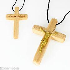 KREUZ Holz  Anhänger 31 x 21 russisch Orthodox крестик деревянный OVP A4*3