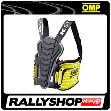 OMP KS BODY PROTECTION XS/S FLUO YELLOW protection RIBS VEST polycarbonate STOCK