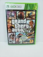 Grand Theft Auto V 5 GTA ( Microsoft Xbox 360, 2013) New Factory Sealed