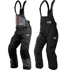 FXR Men Excursion Ice Pro Bib Pant Charcoal//Black//Orange - Small