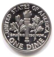 U.S. 2003 S Roosevelt Dime - Cameo Proof American 10 Cents Coin