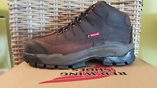 3502 Red Wing Men's 5-inch Safety Shoes Boots Brown Sz. 8.5
