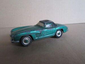 223M 1959'S Corgi 304 Mercedes-Benz 300 Sl Hard-Top Roadster 1:43 Repaint