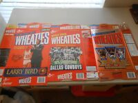 Lot of 14 Wheaties & Other Cereal Athlete Empty Folded Cereal Boxes