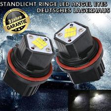 2x 80 Watt  Standlicht Ringe LED Angel Eyes Für BMW E39 E60 E61 E65 E66 7000K