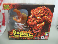 GODZILLA SDCC Meltdown Burning S.H. MonsterArts BANDAI Comic-Con  NIP NEW