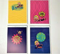 Vintage Lot of 4 Mead Lizzie McGuire Disney Note Pads 36 Decorated Sheets