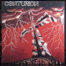 CENTURION - Cross & Black VINYL-SEALED ORIGINAL '86 heavy metal private pressing