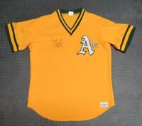 1980's Terry Steinbach Oakland A's Game Used Worn BP Baseball Jersey! Signed MLB