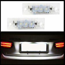 2x LED Premium Number Plate Light for Vw T5 T6 Passat 3BG 3C B5 B6 Touran