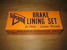 Harley NOS Superior Bremsbeläge 41848-64 -72 XL FX Sportster Panhead Shovel FLH