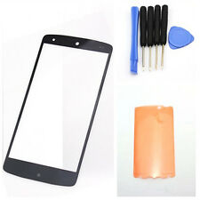 Top Outer Front Screen Glass Lens for LG Google Nexus 5 D820 D821 + Tape + Tool