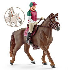 Schleich 42288 English Eventing Rider and Model Horse Toy Figurine - NIP