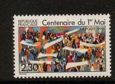 Francia SG2980 1990 céntimos de Día del Trabajo estampillada sin montar o nunca montada