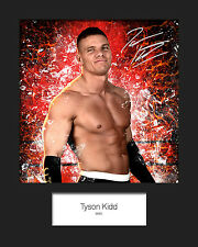 TYSON KIDD #1 (WWE) Signed (Reprint) 10x8 Mounted Photo Print - FREE DELIVERY