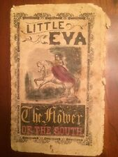 RARE 1850s Harriet Beecher Stowe, Little Eva: Flower of South, Uncle Tom's Cabin