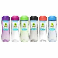 Sistema Hydrate Tritan Active Water & Juice Bottle Assorted Colours 800 ml