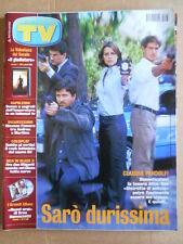 TV Sorrisi e Canzoni n°38 2002 Claudia Pandolfi Eros Ramazzotti   [D54]